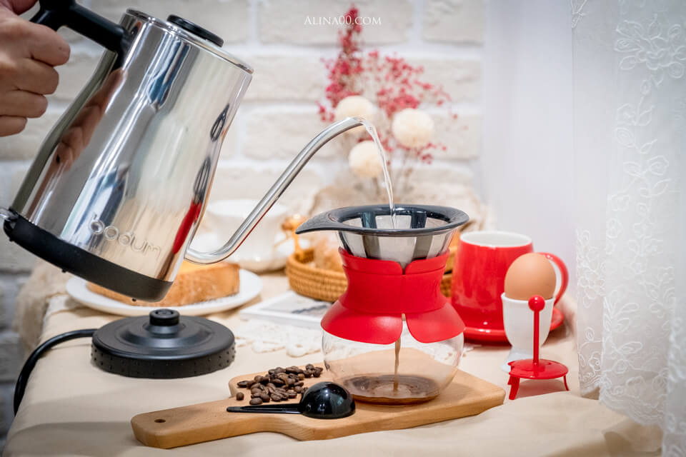 Bodum 咖啡細口電水壺