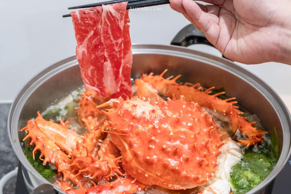 帝王蟹海鮮火鍋