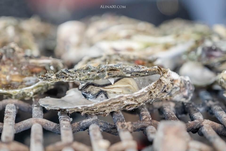 澎湖海洋牧場 烤牡蠣吃到飽
