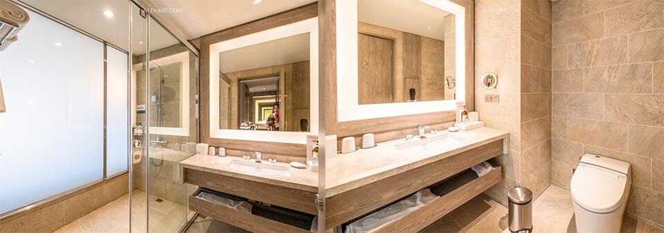 飯店浴室廁所設施