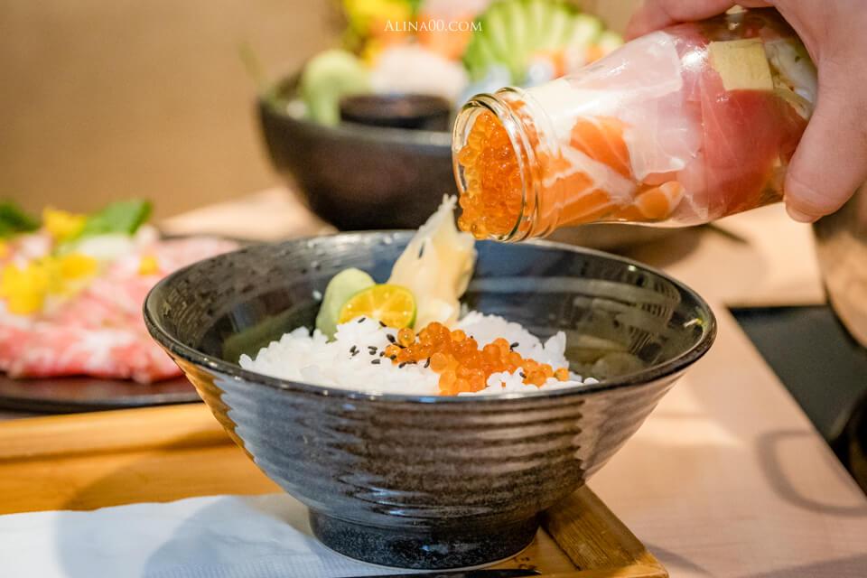 墨岩海鮮丼