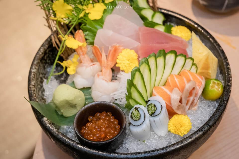 墨岩生魚片