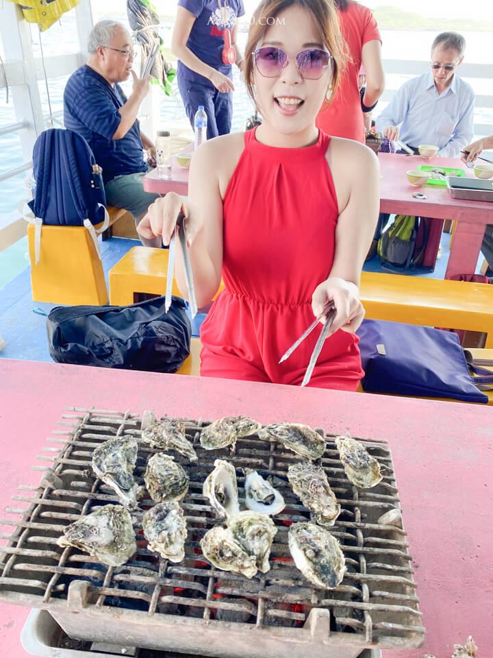 澎湖烤牡蠣吃到飽