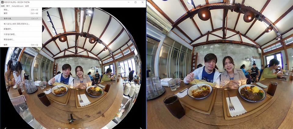 理光360相機