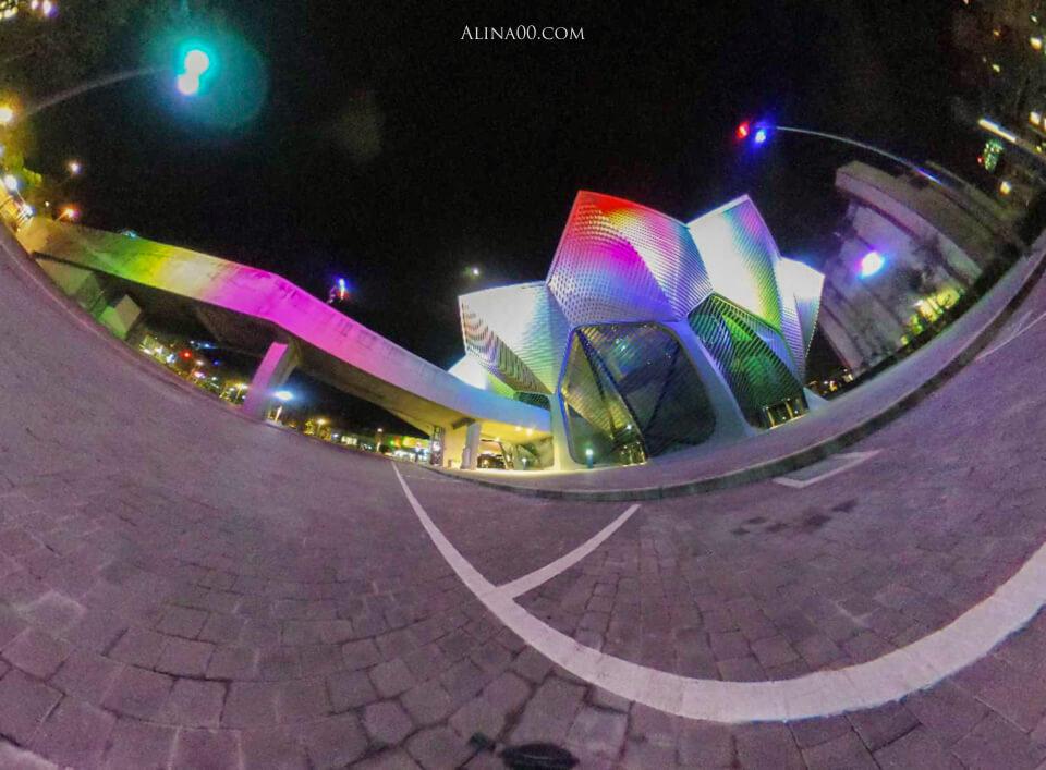 理光360相機夜拍