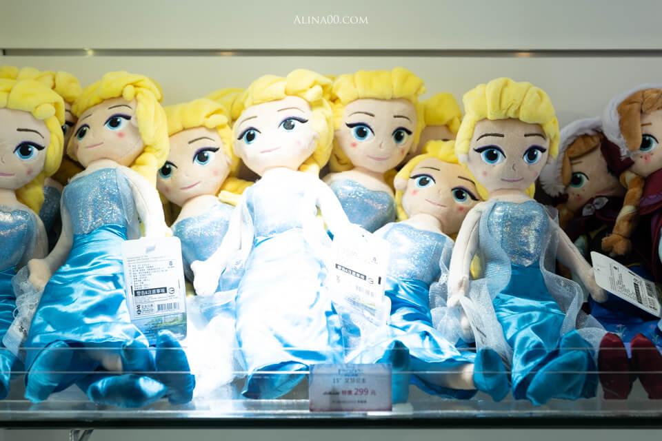 艾莎女王玩偶