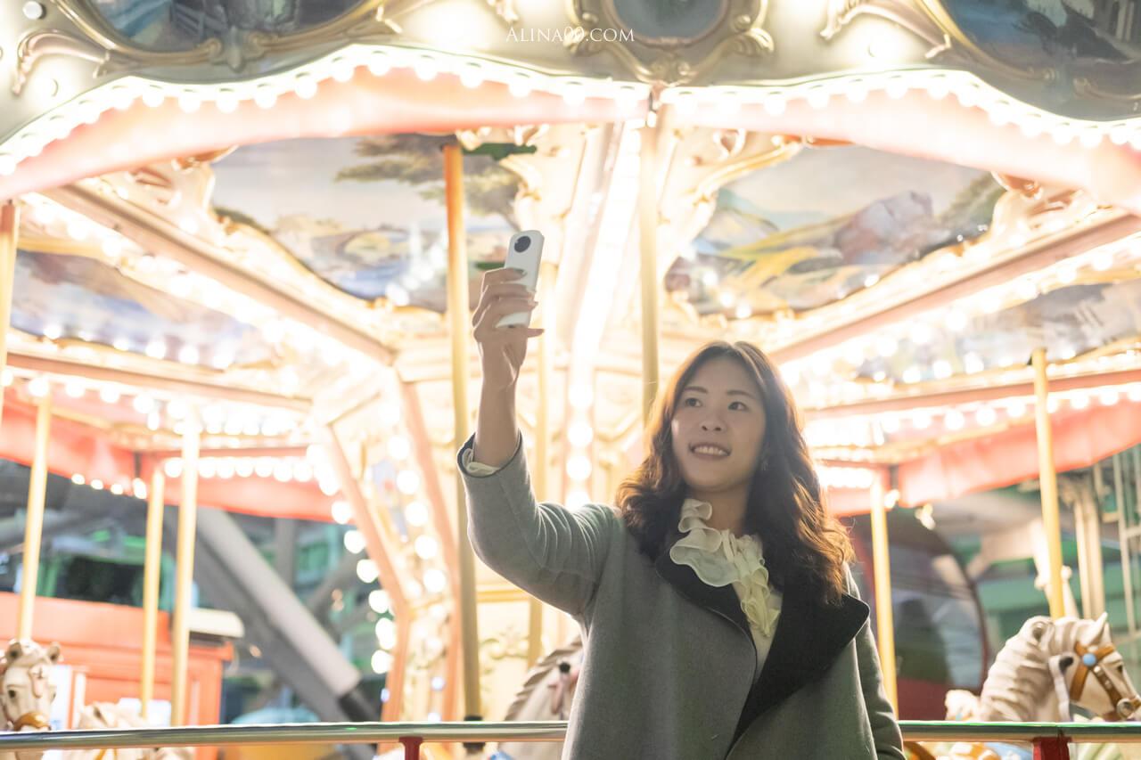 RICOH360 THETA SC2 炫彩夜拍 美肌自拍功能