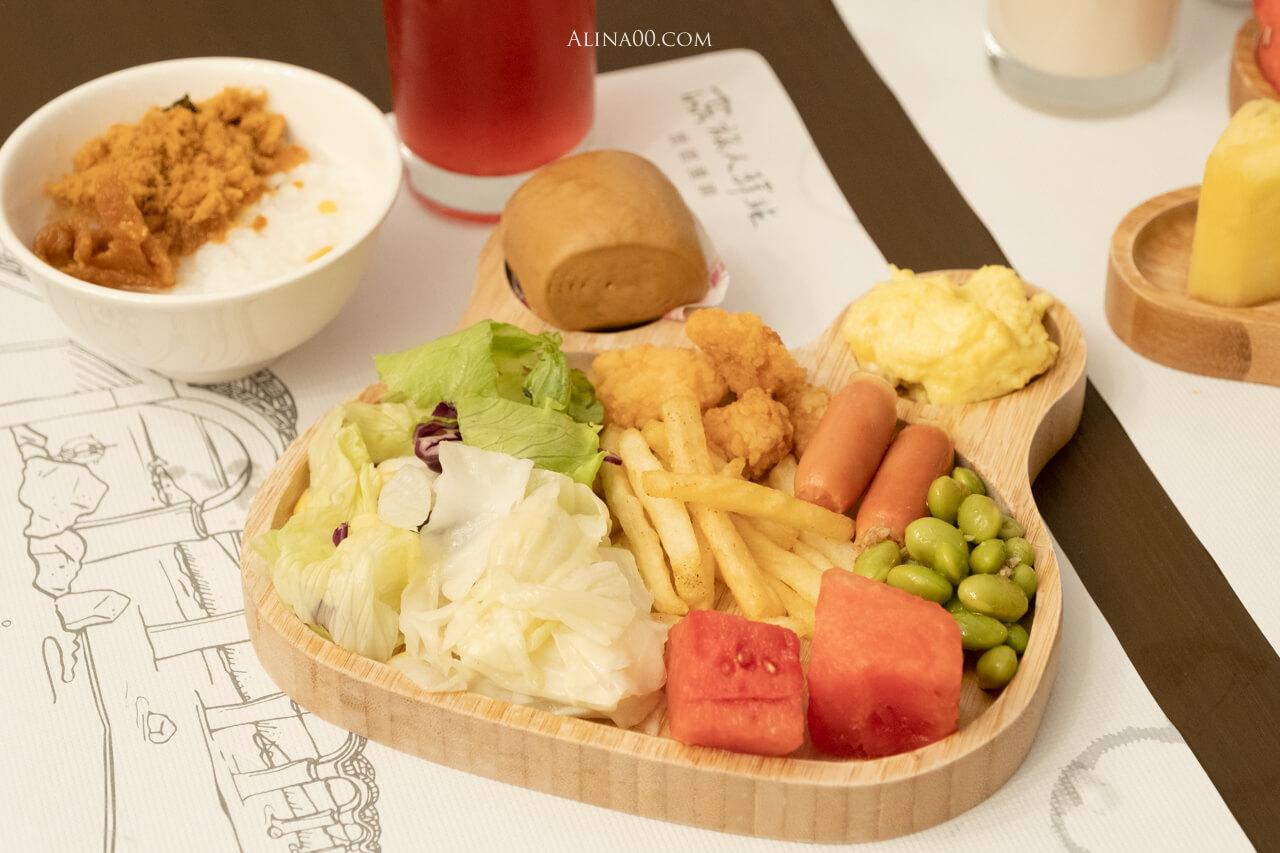 旅人驛站 鐵花文創館飯店早餐