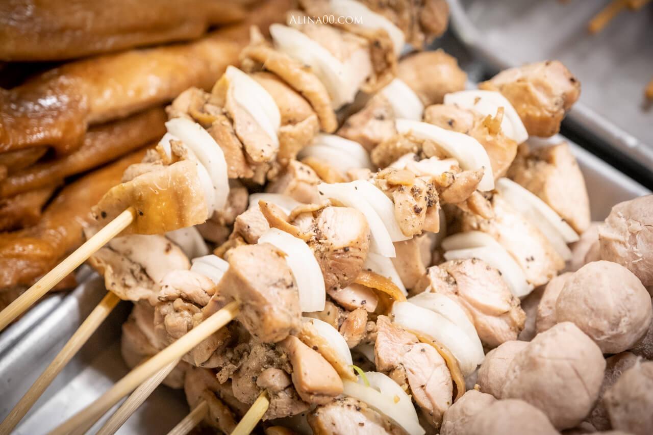 洋蔥雞肉串
