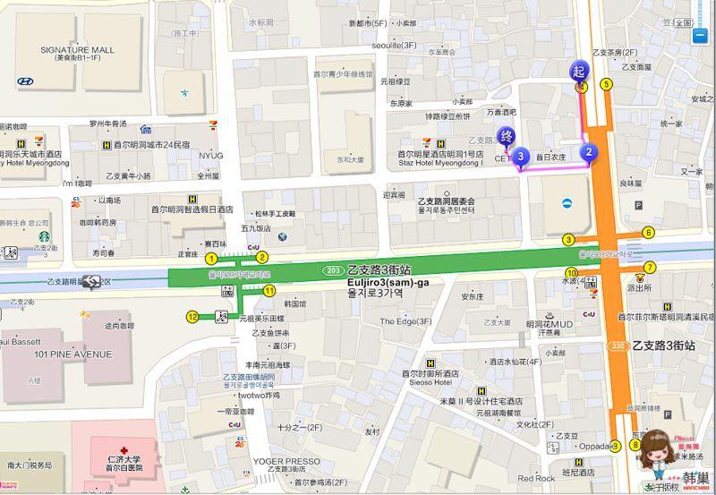 CETU咖啡館交通地圖路線