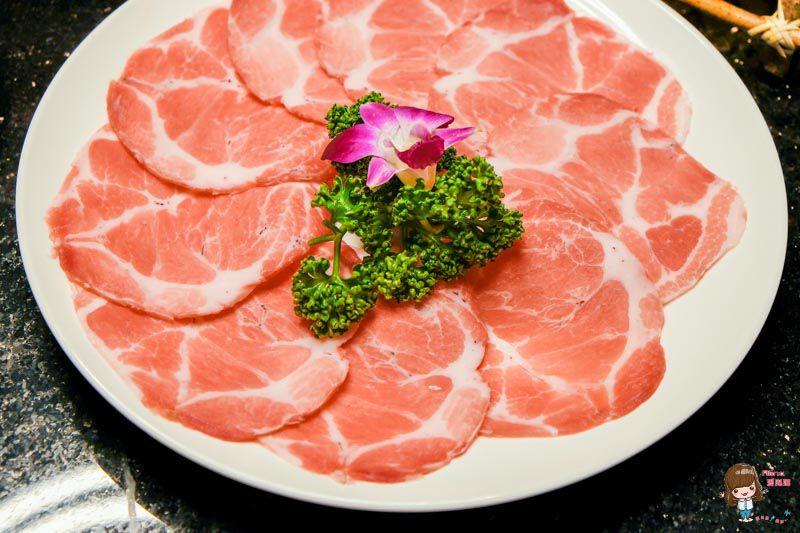 泰滾梅花豬肉片