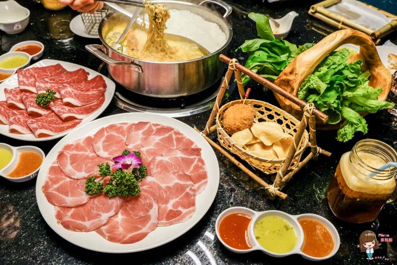 【食記】台北東區 泰滾 泰式火鍋料理-招牌鴛鴦鍋:椰奶雞湯冬蔭酸辣雙享受 @Alina 愛琳娜 嗑美食瘋旅遊
