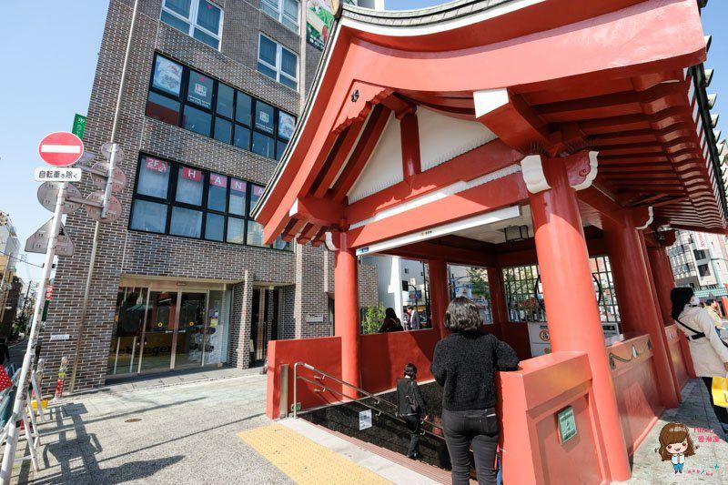 東京淺草寺和服體驗