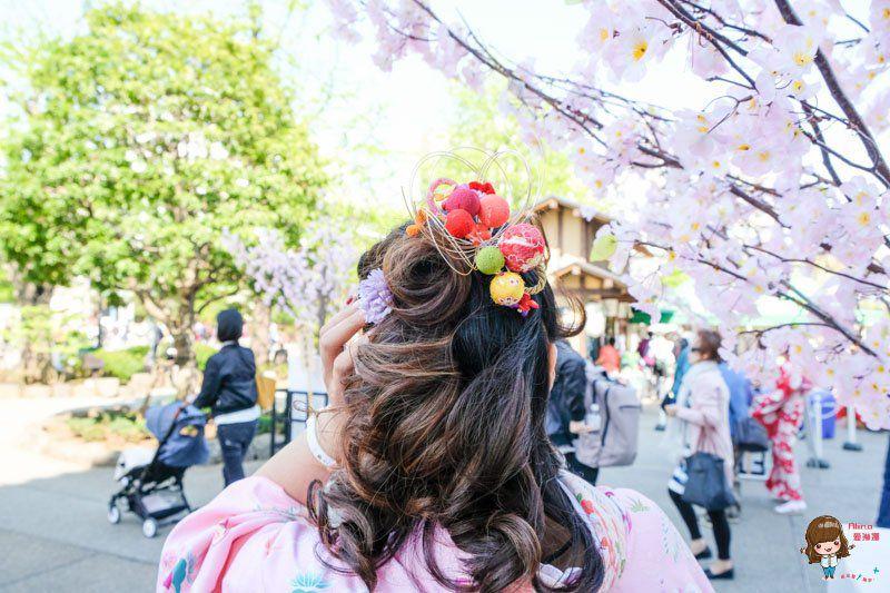 東京和服體驗髮型設計