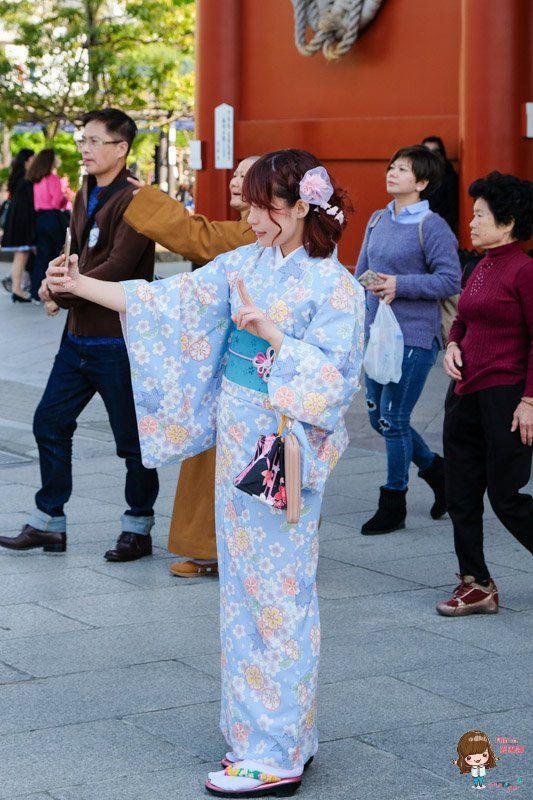 東京淺草HANA和服體驗