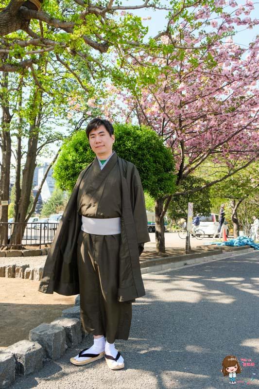 東京和服體驗 男生和服體驗