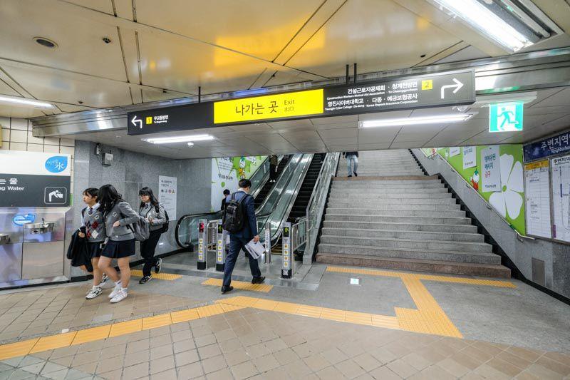 【首爾民宿】明洞 HOTEL BONBON 棒棒飯店-明洞住宿平價選擇 鄰近地鐵站