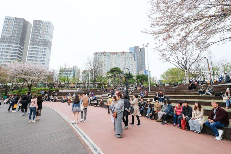 石村湖首爾遊樂園廣場