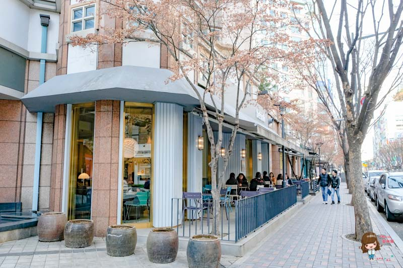 亭子洞咖啡街