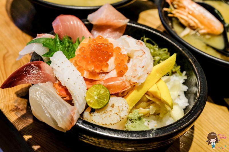 【食記】台北大安 井上禾食-生魚片海鮮丼飯,近捷運六張犁站 @Alina 愛琳娜 嗑美食瘋旅遊