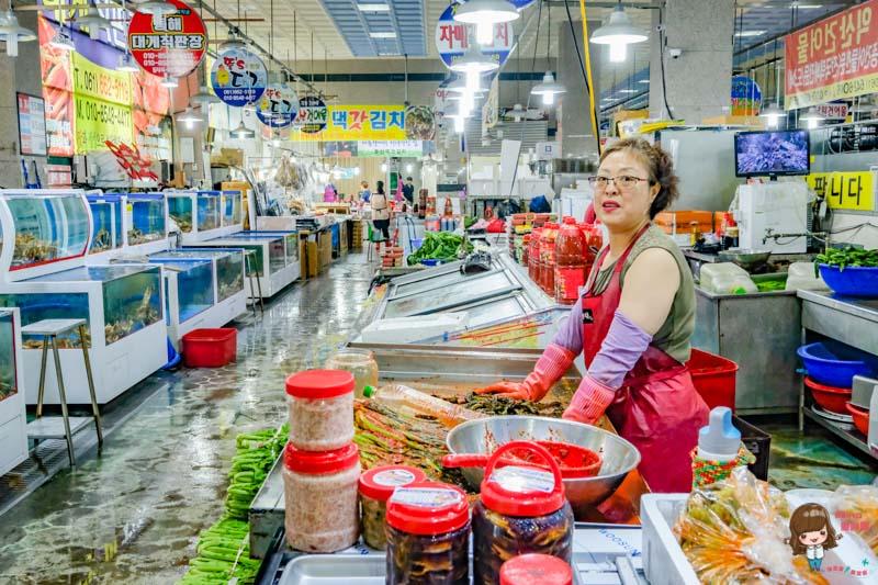 韓國麗水市場