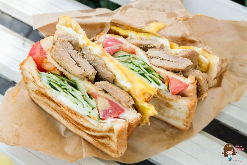 【食記】台北忠孝新生 阿姐的店碳烤三明治 超大豬排起司蛋炭火烤吐司 @Alina 愛琳娜 嗑美食瘋旅遊
