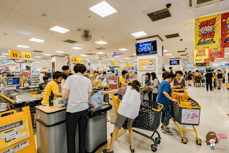 韓國麗水超市購物