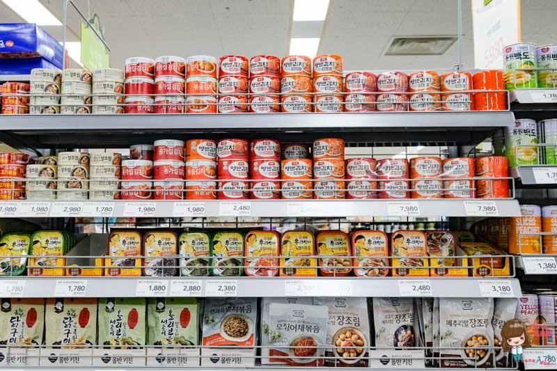 韓國泡菜罐頭