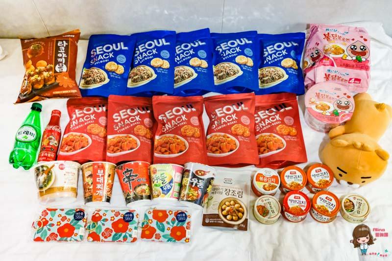 韓國購物必買零食