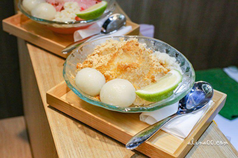 【食記】台北中山 涼手作冰品 Q彈冰火糰子-結合台灣古早味的日式刨冰 @Alina 愛琳娜 嗑美食瘋旅遊