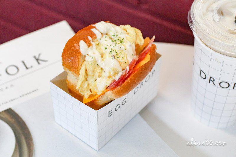 【首爾美食】三清洞 EGG DROP 歐姆蛋吐司三明治 韓國文青早午餐 @Alina 愛琳娜 嗑美食瘋旅遊