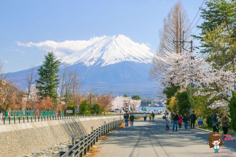 日本富士山山中湖