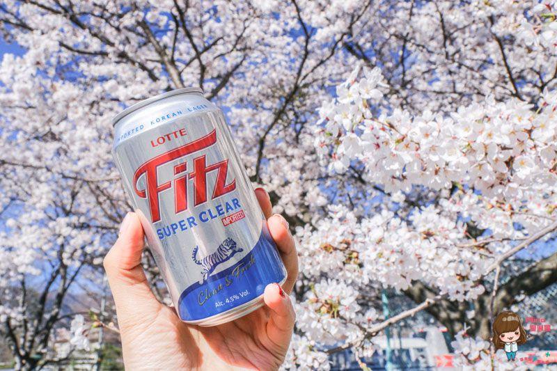 【韓國啤酒】LOTTE 樂天Fitz啤酒 Super Clear超清爽 新上市 來份炸雞配啤酒! @Alina 愛琳娜 嗑美食瘋旅遊