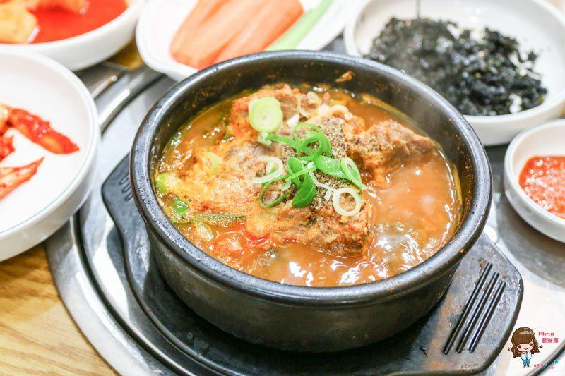 【首爾美食】馬鈴薯排骨湯-明洞元堂脊骨土豆湯-24小時營業的1人友善餐廳 @Alina 愛琳娜 嗑美食瘋旅遊