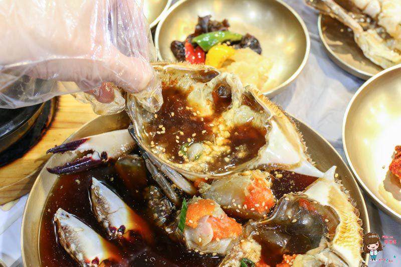 韓國釜山醬油螃蟹
