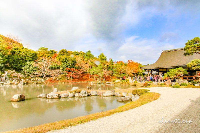 京都嵐山天龍寺
