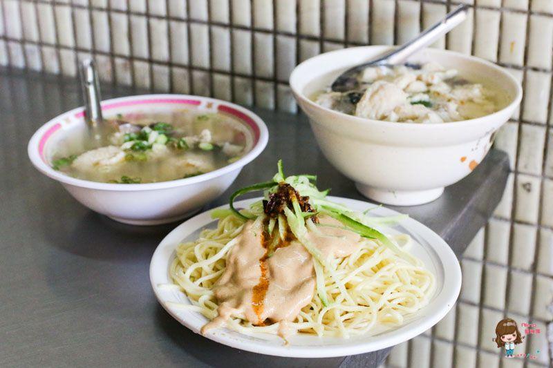 【食記】台北信義 易家鯊魚麵 芝麻醬涼麵-傳統台灣味小吃當早餐 @Alina 愛琳娜 嗑美食瘋旅遊